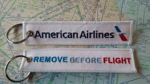 American Airlines keyring